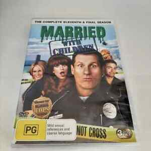 Married With Children : Season 11 Final (DVD, 3-Disc Set) NEW Region 4