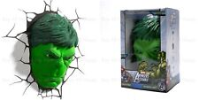 Marvel Avengers HULK Head 3D Deco Wall LED Night Light Christmas Gift