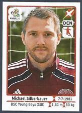 PANINI EURO 2012- #211-DANMARK-DENMARK-BSC YOUNG BOYS-MICHAEL SILBERBAUER