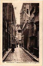CPA Périgueux-Maison Renaissance-Rue Limogeanne (233584)
