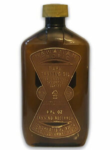 Hawaiian Tropic Dark Tanning Oil Vintage New 8oz Made in the USA