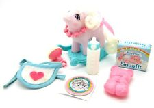 ⭐️ My Little Pony ⭐️ G1 Play & Care Baby Blossom w/Factory Curls & Accessories!