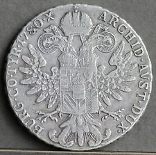 More details for maria theresa silver thaler 1780. 20th century restrike, london? circulated gvf
