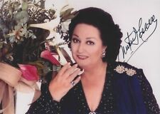 MONTSERRAT CABALLE in person signed glossy PHOTO 5x7 inch AUTOGRAPH *OPERA*