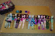 Monster High Doll Spectra Clawdeen Frankiestein Draculaura Abbey Cleo Lagoona