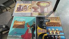 101 STRINGS 4 Records 33 RPM LP Blues, American Waltzes, Burt Bacharach Jim Webb