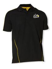 Tour de France Sports Polo Official Apparel (Black)