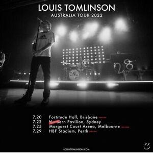Louis Tomlinson Tickets Sydney X 2