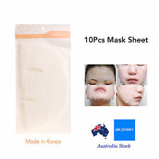 10 Facial Pure Mask Sheet Face Sheet Skin Care Peeling Mask Clean Skin Collagen