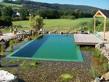 6,99€//m² Teichfolie Blau 1 mm 4,50 x 8 m Gartenteich Schwimmteich Badeteich