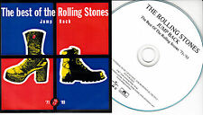ROLLING STONES Jump Back UK 18-trk numbered/watermarked promo test CD