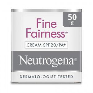 Neutrogena Fine Fairness Cream Spf 20, 50gm