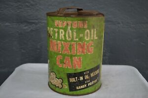 Vintage - Neptune Oil Co. - Petrol Oil Mixing Can