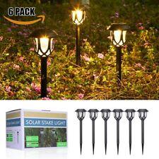 6 Stk LED Solarlampe Solarleuchte Gartenlicht Außenbeleuchtung Solar Wegeleuchte