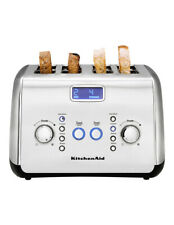 KitchenAid KMT423SX 4 Slice Wide-Slot Toaster - Silver