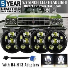 """4x 5.75"""" 5-3/4"""" LED Headlights DOT Projector High-Low Sealed Beam for Ford Elite"""