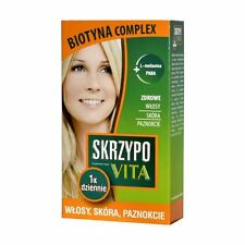 SKRZYPOVITA Biotyna Complex 42 tabl. włosy skóra paznokcie HAIR SKIN NAILS