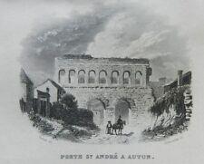 **** RARE - GUIDE PITTORESQUE DU VOYAGEUR EN FRANCE : SAÔNE-ET-LOIRE (71) - 1835