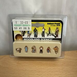 Woodland Scenics A2124 N Scale Ordinary People