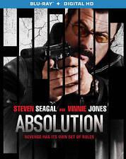 ABSOLUTION (Blu-ray Region A+ Digital HD Ultraviolet Code, 2014) Steven Seagal!!