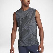 Nike sz S Men's Tailwind Running Logo Tank Top New $50 857811 497 Armoury Blue