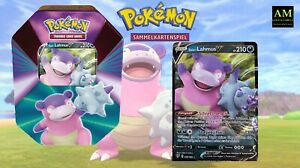 Pokemon TCG - Tin Box Galar Lahmus V German immediately Available New