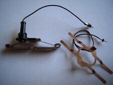 Märklin H0 Stromzuführug 73406 asymmetrischer Schleifer und Massefeder Kabel Neu