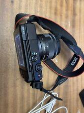 Cámara SLR Canon EOS M10 D con lente 15-45mm IS STM-Negro
