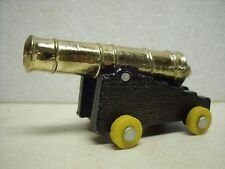 Mini Siege CANNON- BRASS Metal Replica Cast Iron Toy