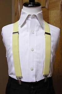 Boys suspenders set clip-on x back Black Coral Red Silver Mint Fuchsia Pink Jade