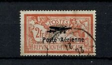 "FRANCE POSTE AERIENNE YVERT 1 "" MERSON 2F SALON AVIATION 1927 "" OBLITERE TB W127"
