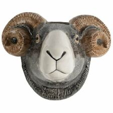 More details for swaledale sheep wall vase by quail looks great with or without flowers