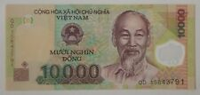 Viet Nam UNC Banknote 10,000 VND (Muoi Nghin Dong) Polymer Series