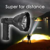 Portable Super Bright Searchlight Handheld Spotlight LED Rechargeable Flashlight