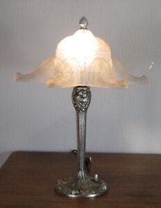 WONDERFUL FRENCH ART DECO TABLE LAMP 1925 - DES HANOTS -