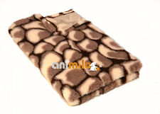 Tapis couchage Confortbed Vetbed Dry Extra motif pierres 26 mm, marron-50x75 cm