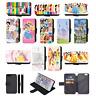 DISNEY PRINCESS CASTLE Flip Phone Case Cover Wallet iPhone 4 5 SE 6 7 8 X Comp