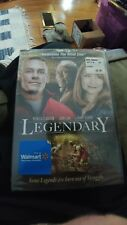 Legendary (DVD, 2010) brand new in the plastic perfect for the John Cena fan