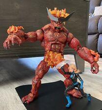 "Marvel Legends Custom SURTUR - Thor Loki Odin Beast Valkyrie 12"" 12 inch"