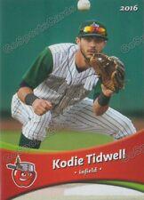 2016 Fort Wayne Tin Caps Kodie Tidwell RC Rookie Padres Minor