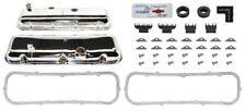 68-72 Camaro BB Chrome Valve Cover Kit w/Drippers 396-375 427- 425 COPO ZL1
