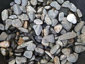 New NATURAL Rock Stone for AQUARIUM Fish Tank Gravel Reptile,pond's 2 Kg