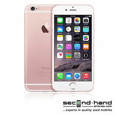 Apple iPhone 6s 16GB - Rose Gold - (Unlocked / SIM FREE) - 1 Year Warranty