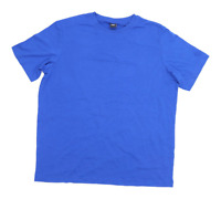 Cotton Traders Mens Size L Cotton Blue T-Shirt