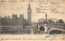 BR58050 westminster bridge and clock tower chariot  london   uk