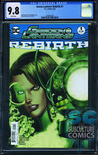 GREEN LANTERNS REBIRTH #1 - FIRST PRINT - CGC 9.8 - SOLD OUT - DC COMIC RELAUNCH
