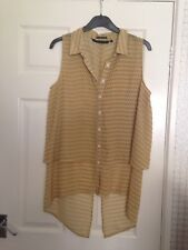 Silvian Heach (REAL)  Ladies Layered Top Size L Size 12/14