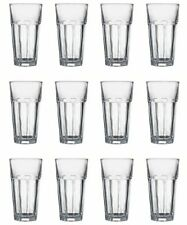 Set Long Drink Glass 0,36 L 12 Piece Cocktail Glass Drinking Glass Caipirinha Caipi Beer