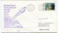 1967 Rocket Atlantic Missile Range Cape Kennedy Patrick Air Force Base Atlas USA