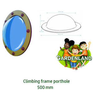Porthole for climbing frame 500mm